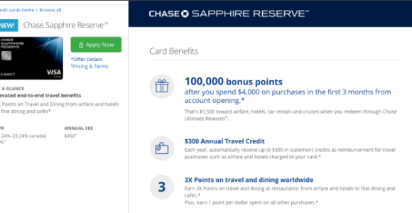 Weekend Plans: Apply For The Chase Sapphire Reserve!