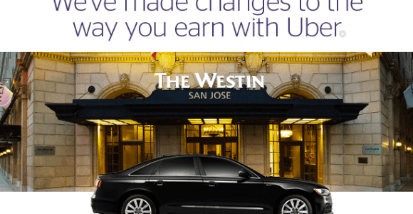 SPG Reducing Points Earning With Uber