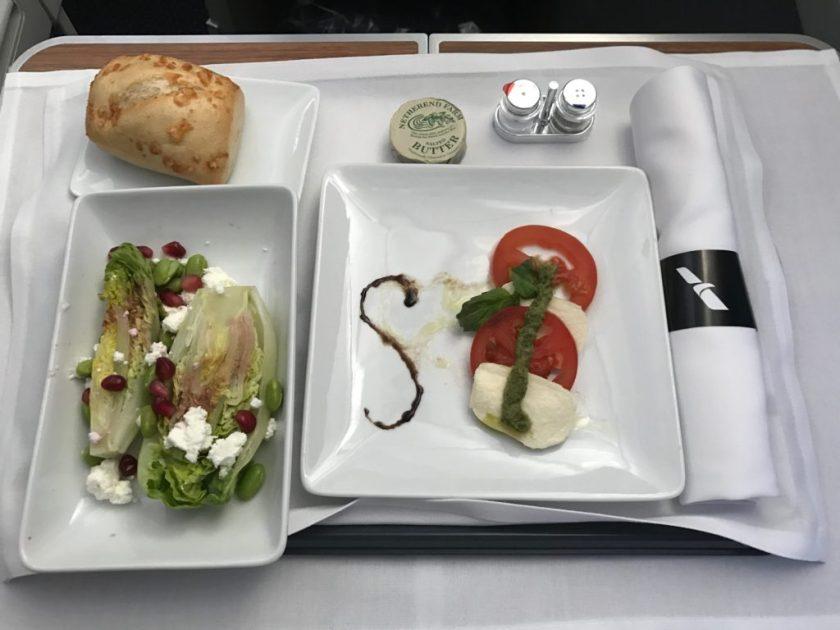 Caprese Salad and Wedge Salad