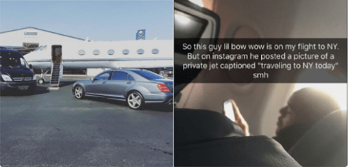 LOL: Bow Wow Caught In A Private Jet Lie