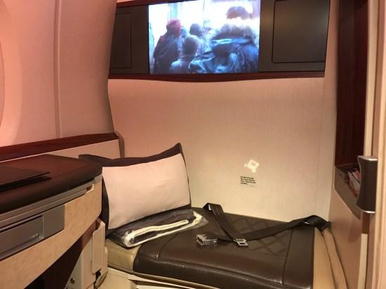 Singapore Airlines Suites Class Ottoman