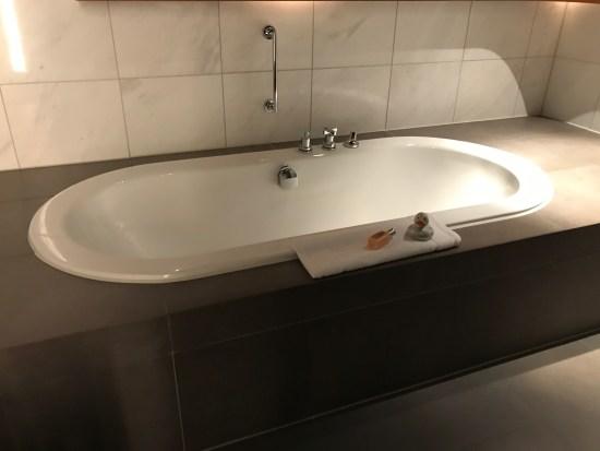 Lufthansa First Class Terminal Bath