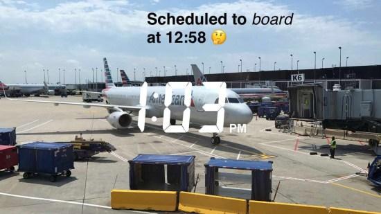 Late Inbound Aircraft