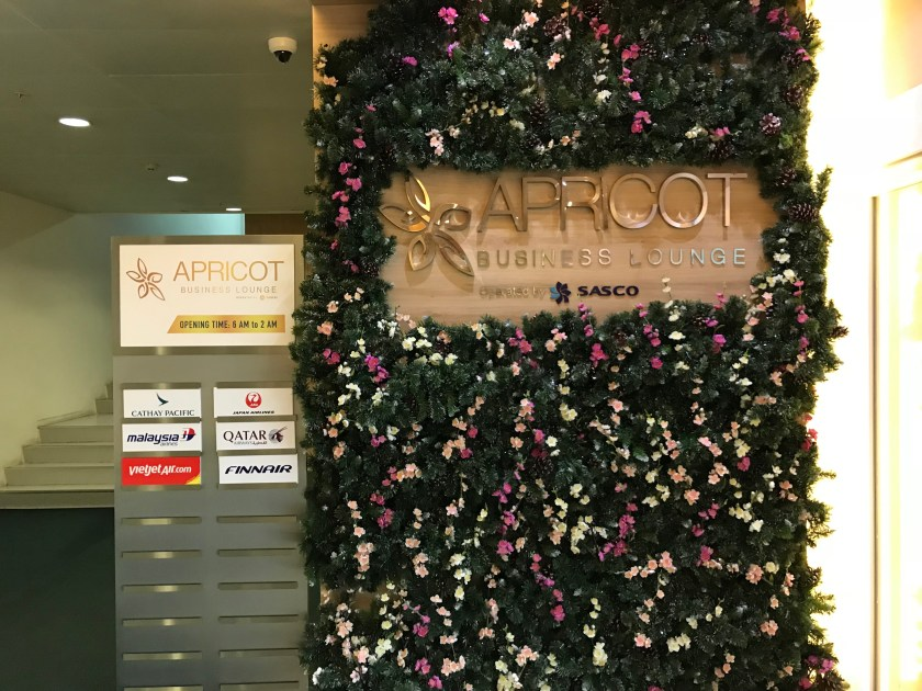Apricot Lounge Welcome Desk