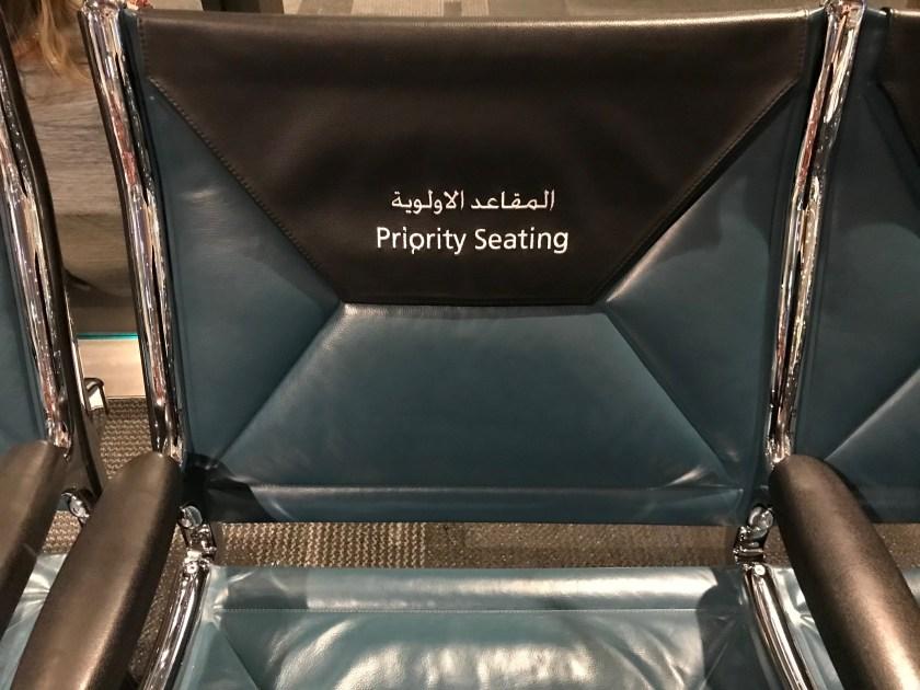 Qatar Airways Doha Priority Gate Seating