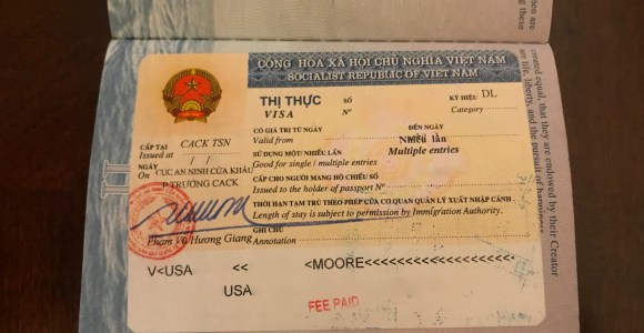 Review: Applying For A Visa On Arrival To Enter Vietnam