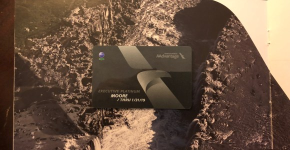 American Airlines AAdvantage Executive Platinum Welcome Kit