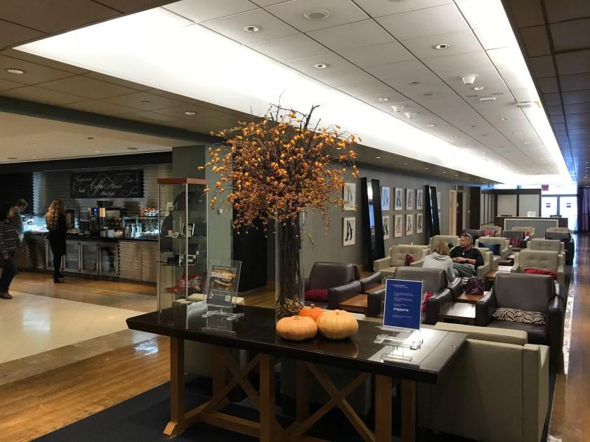 British Airways Galleries New York Open Sitting Area
