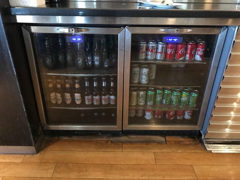 British Airways Galleries Beer Selection New York JFK