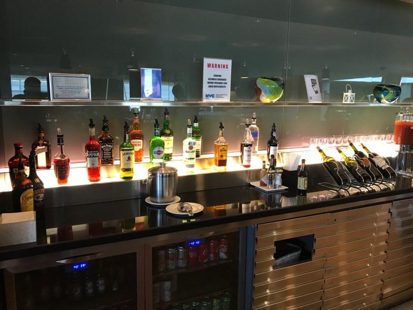 British Airways Galleries Cocktail Bar New York JFK
