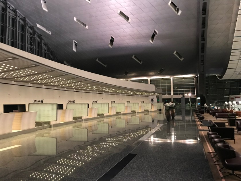 Qatar Airways Business Class Check In Counters