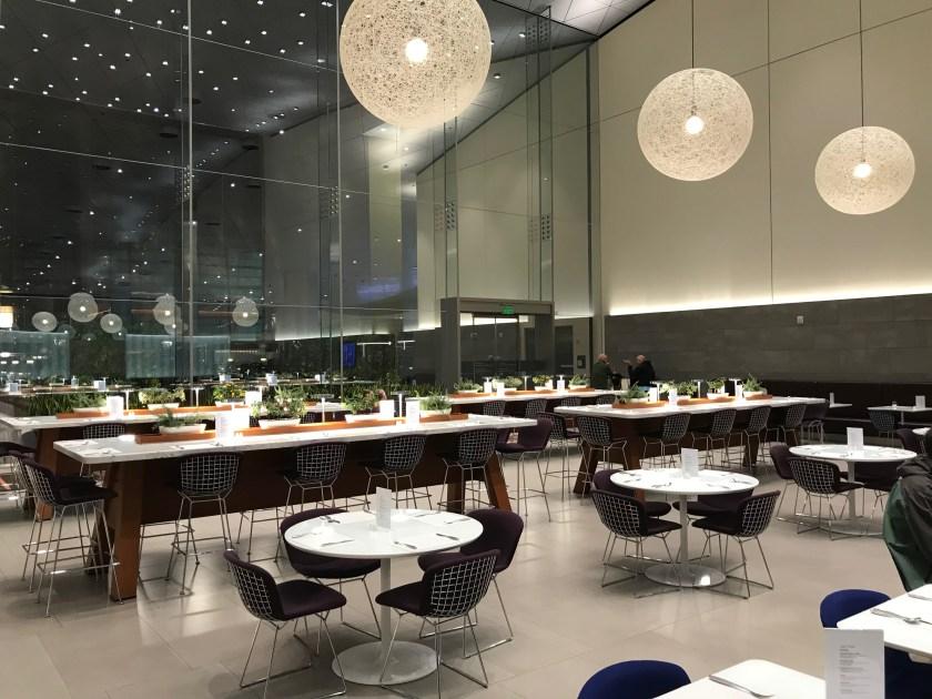 Al Mourjan Business Class Lounge Dining Resort Interior