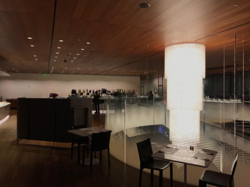 Al Mourjan Business Class Lounge Host Stand