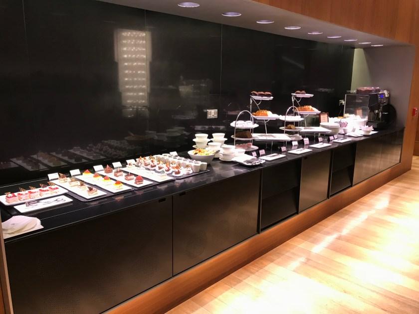 Al Mourjan Business Class Lounge Dessert Buffet