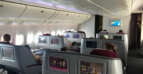 Review: Qatar Airways 777 Business Class Doha To Chicago