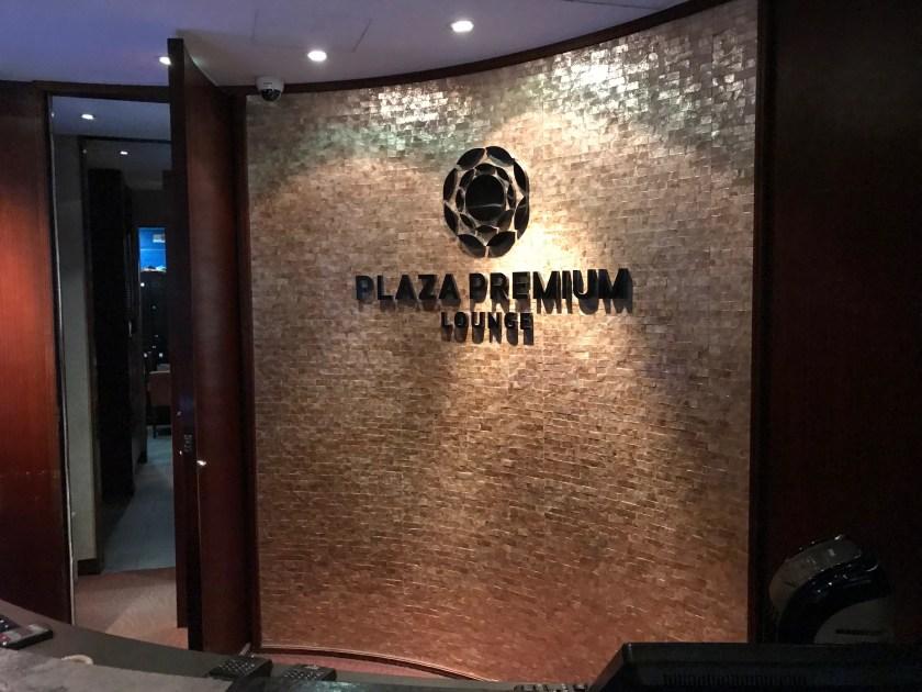 Plaza Premium Lounge Hong Kong Entrance