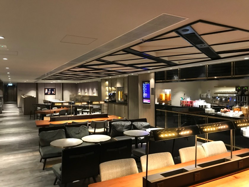 Plaza Premium Lounge Hong Kong East Seating