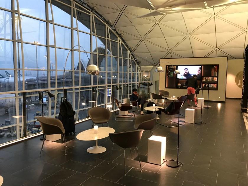 American Express Centurion Lounge Hong Kong Sitting Area