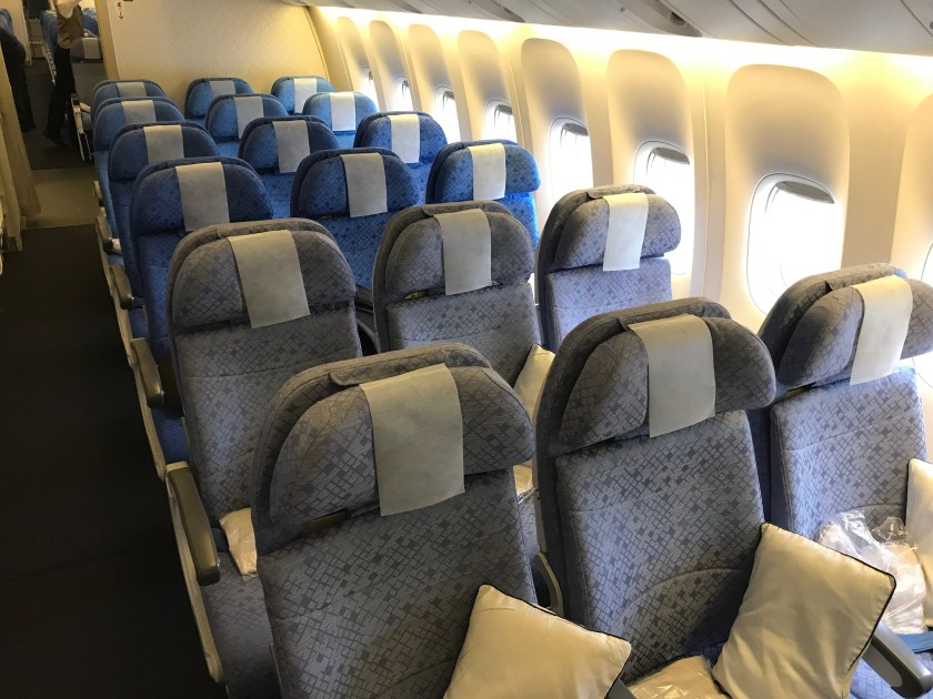 Cathay Pacific 777-300ER Economy Class