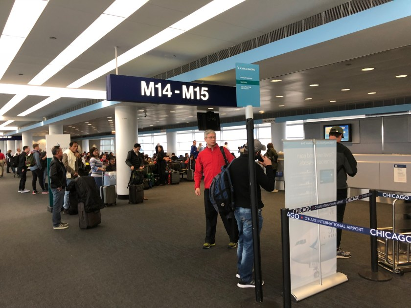 Terminal 5 Gate M14-M15