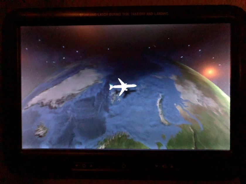 Cathay Pacific 777 Moving Map