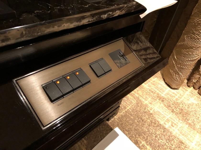 The Ritz-Carlton Hong Kong 112-15 Bedside Room Controls