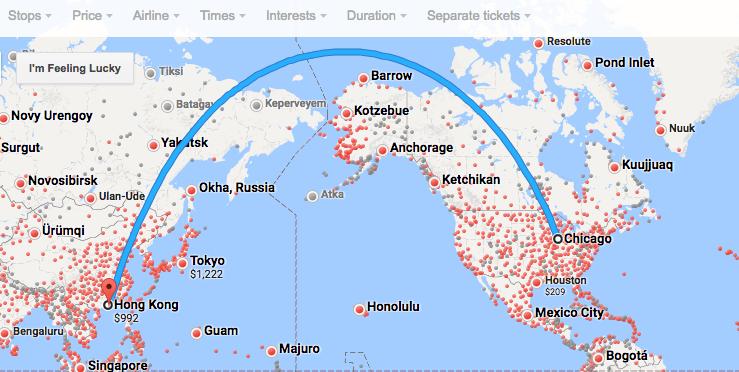 Chicago To Hong Kong