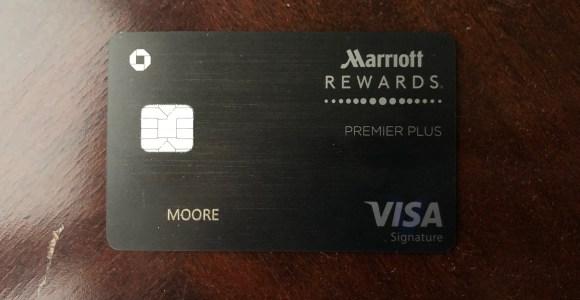 my new chase marriott rewards premier plus card arrived credit cards - Marriott Rewards Credit Card No Annual Fee