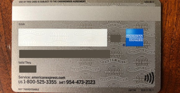 My Contactless American Express Platinum Card Arrived
