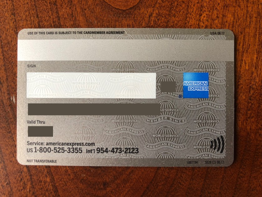 American Express Usa >> My Contactless American Express Platinum Card Arrived Moore With Miles