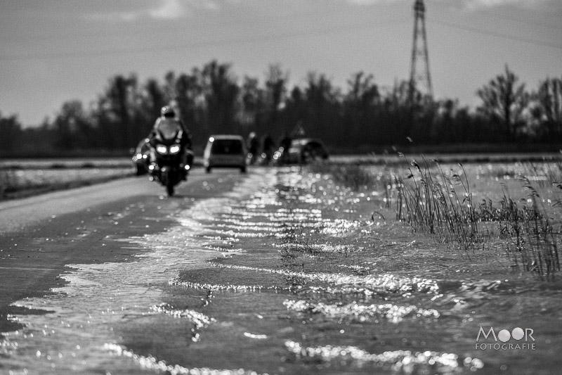 Water fotograferen - zwart-wit