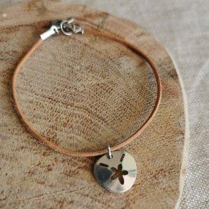 CoralBloom Handmade Jewelry Polished Aluminium Bracelet