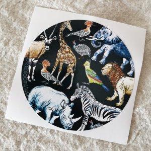 CoralBloom License Disk Wild Animals