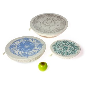 Halo Dish and Bowl Cover Large Set of 3   Beach House