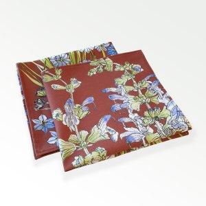 CoralBloom Aristea Napkins Cotton Set of Two Folded