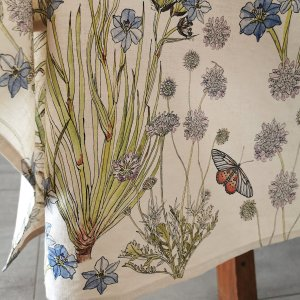 CoralBloom Tablecloth Cotton Tablesetting Butterflies