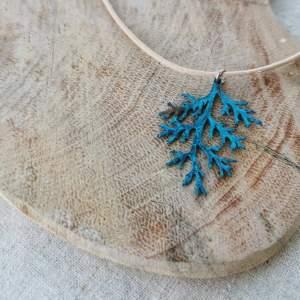 CoralBloom Pendant Reclaimed Copper Seaweed