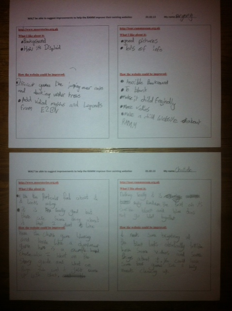 Workshop Feedback - St David's Church of England Primary School, Exeter