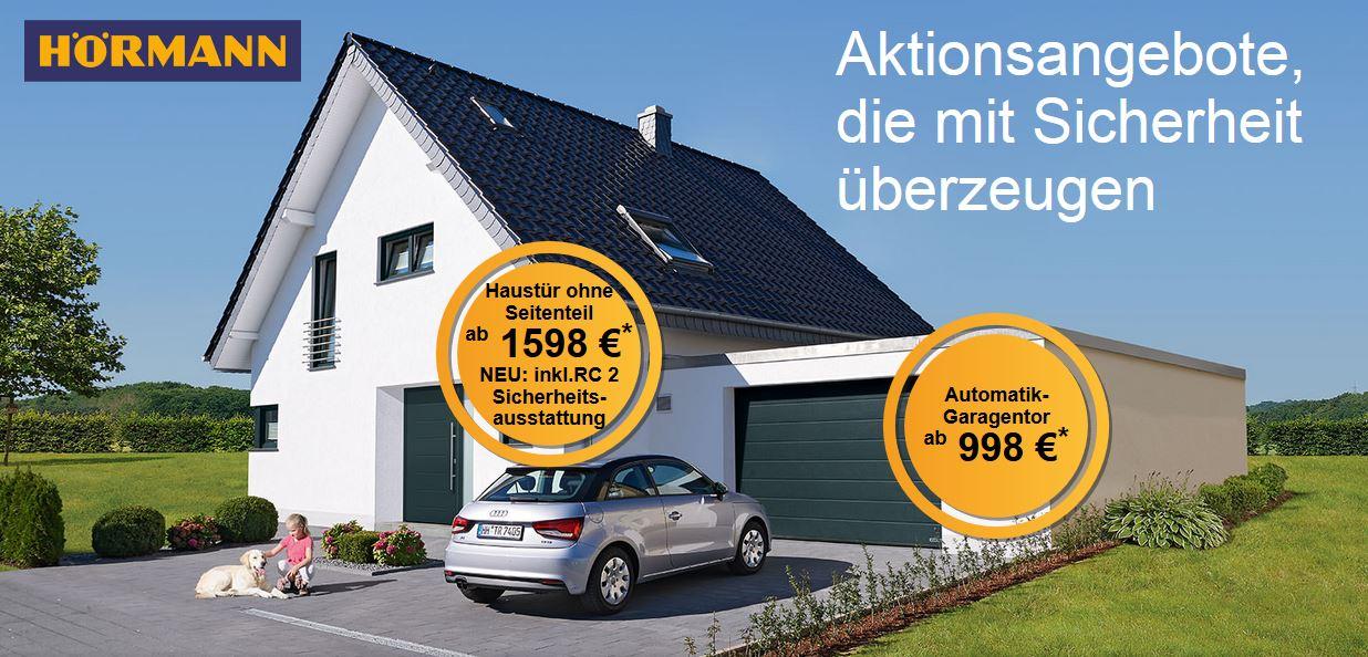 Haustür & Garagentor Sonderaktion