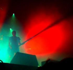 Hugo and his bass-ray-gun