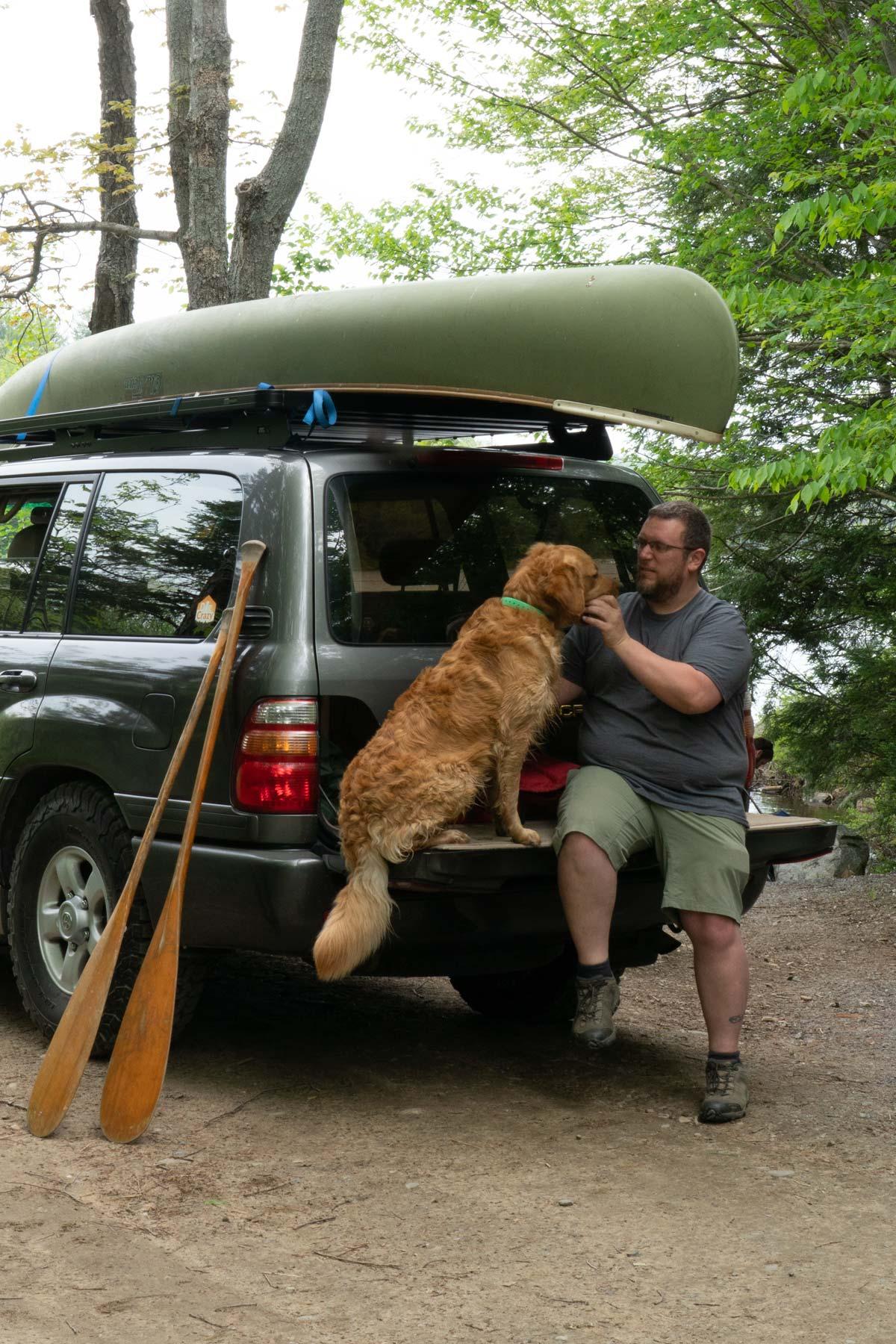 marty moose canoe trip