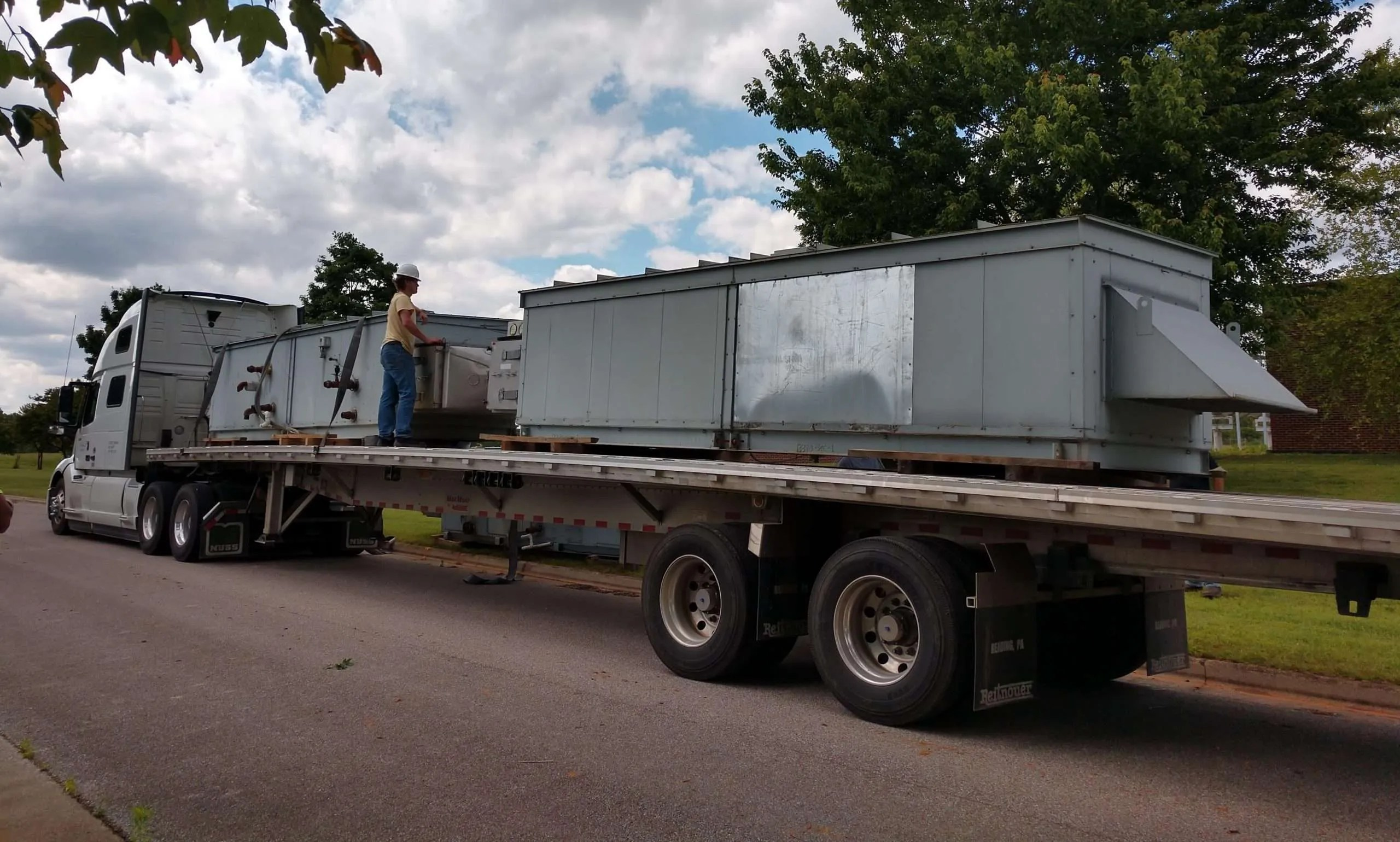 , Machinery Moving Services Gallery