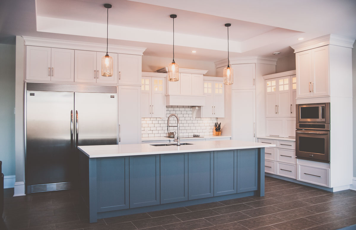 Custom home featuring new kitchen in Summerfield