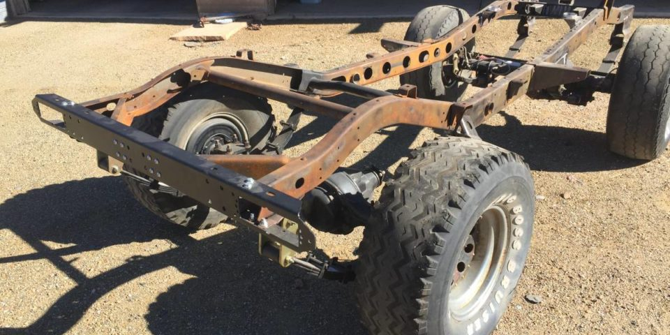 Fj40 Rolling Chassis Land Cruiser Toyota Moose S