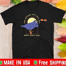 birdwatching goes both ways tee shirtsbirdwatching goes both ways tee shirts