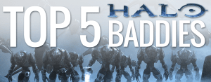 Top 5 Greatest Halo Baddies