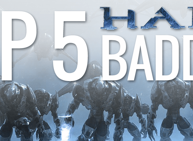 Top Five Halo Baddies