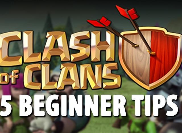 5 Beginner Tips Clash of Clans