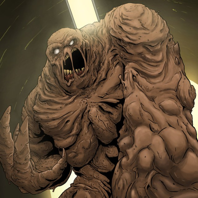 Clayface by Edward Delandre