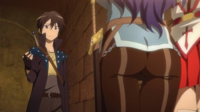 Kirito and Yolko's Butt